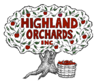 Highland Orchards famous fresh baked Pies. Apple Extravaganza fall festival apples and pumpkins.